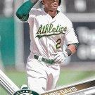 Khris Davis 2017 Topps #501 Oakland Athletics Baseball Card