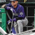 Carlos Gonzalez 2017 Topps #425 Colorado Rockies Baseball Card