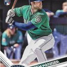 Mitch Haniger 2017 Topps Rookie #433 Seattle Mariners Baseball Card