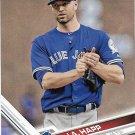 J.A. Happ 2017 Topps #662 Toronto Blue Jays Baseball Card