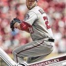 Shawn Kelley 2017 Topps #541 Washington Nationals Baseball Card