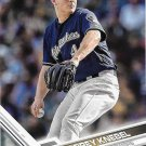 Corey Knebel 2017 Topps #646 Milwaukee Brewers Baseball Card