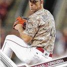 Michael Lorenzen 2017 Topps #386 Cincinnati Reds Baseball Card