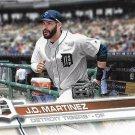 J.D. Martinez 2017 Topps #565 Detroit Tigers Baseball Card