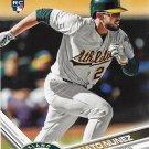 Renato Nunez 2017 Topps Rookie #642 Oakland Athletics Baseball Card