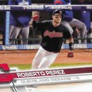 Roberto Perez 2017 Topps #419 Cleveland Indians Baseball Card