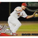 David Freese 2010 Topps Update #US-298 St. Louis Cardinals Baseball Card