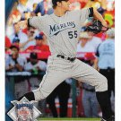 Josh Johnson 2010 Topps Update #US-160 Florida Marlins Baseball Card