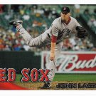 John Lackey 2010 Topps Update #US-190 Boston Red Sox Baseball Card