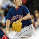 Koji Uehara 2016 Topps #90 Boston Red Sox Baseball Card