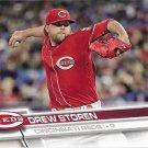 Drew Storen 2017 Topps #395 Cincinnati Reds Baseball Card