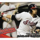 Carlos Santana 2010 Topps Update Rookie Debut #US-307 Cleveland Indians Baseball Card