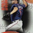 Michael Cuddyer 2016 Topps Pressed Into Service #PIS-4 Minnesota Twins Baseball Card