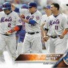 New York Mets 2016 Topps #273 Baseball Team Card