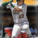 Ryon Healy 2017 Bowman Rookie #35 Oakland Athletics Baseball Card