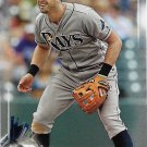Evan Longoria 2017 Bowman #37 Tampa Bay Rays Baseball Card
