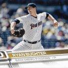 Ryan Buchter 2017 Topps #610 San Diego Padres Baseball Card