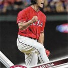 Yu Darvish 2017 Topps #665 Texas Rangers Baseball Card