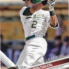 Khris Davis 2017 Topps #291 Oakland Athletics Baseball Card
