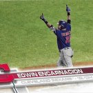 Edwin Encarnacion 2017 Topps #630 Cleveland Indians Baseball Card