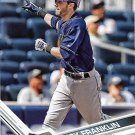 Nick Franklin 2017 Topps #471 Tampa Bay Rays Baseball Card