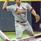 Jedd Gyorko 2017 Topps #668 St. Louis Cardinals Baseball Card