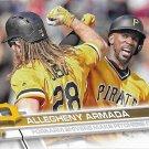 John Jaso-Andrew McCutchen 2017 Topps #636 Pittsburgh Pirates Baseball Card