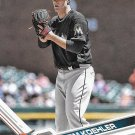 Tom Koehler 2017 Topps #552 Miami Marlins Baseball Card
