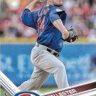 Jon Lester 2017 Topps #360 Chicago Cubs Baseball Card