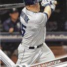Mikie Mahtook 2017 Topps #550 Detroit Tigers Baseball Card