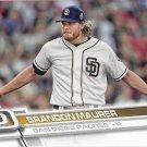 Brandon Maurer 2017 Topps #624 San Diego Padres Baseball Card