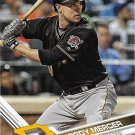 Jordy Mercer 2017 Topps #629 Pittsburgh Pirates Baseball Card