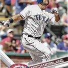 Mitch Moreland 2017 Topps #317 Texas Rangers Baseball Card