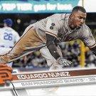 Eduardo Nunez 2017 Topps #532 San Francisco Giants Baseball Card