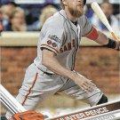 Hunter Pence 2017 Topps #633 San Francisco Giants Baseball Card