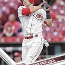 Jose Peraza 2017 Topps #506 Cincinnati Reds Baseball Card