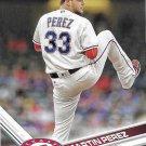 Martin Perez 2017 Topps #545 Texas Rangers Baseball Card