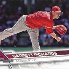 Garrett Richards 2017 Topps #655 Los Angeles Angels Baseball Card