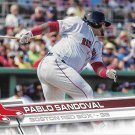 Pablo Sandoval 2017 Topps #392 Boston Red Sox Baseball Card