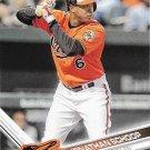 Jonathan Schoop 2017 Topps #391 Baltimore Orioles Baseball Card