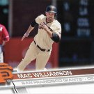 Mac Williamson 2017 Topps #683 San Francisco Giants Baseball Card