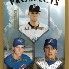 A.J. Burnett, Billy Koch, John Nicholson 1999 Topps Prospects #437 Baseball Card