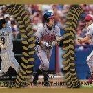 Vinny Castilla, Chipper Jones, Scott Rolen 1999 Topps #453 Baseball Card