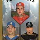Adam Kennedy, Mickey Lopez, Jackie Rexrode 1999 Topps Prospects #433 Baseball Card
