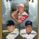 Jason LaRue, Matt LeCroy, Mitch Meluskey 1999 Topps Prospects #431 Baseball Card