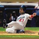 Raul Mondesi 1999 Topps #365 Los Angeles Dodgers Baseball Card