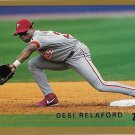 Desi Relaford 1999 Topps #336 Philadelphia Phillies Baseball Card