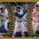 Sammy Sosa, Ken Griffey Jr., Juan Gonzalez 1999 Topps #454 Baseball Card