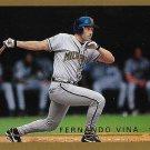Fernando Vina 1999 Topps #328 Milwaukee Brewers Baseball Card