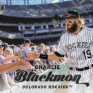 Charlie Blackmon 2017 Topps Stadium Club #207 Colorado Rockies Baseball Card